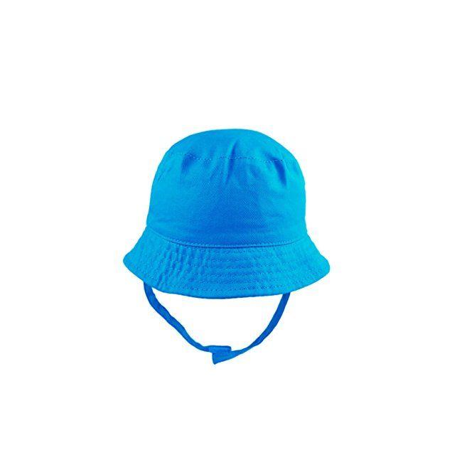 Pesci Baby Sun Hat Boys Girls Toddler Kids Summer Bucket Style Beach Hat  with Chin Strap 2ed5f540616