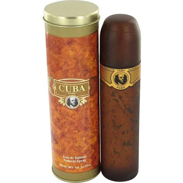 Cuba Gold Cologne By Fragluxe Cigars Men Perfume Cuba