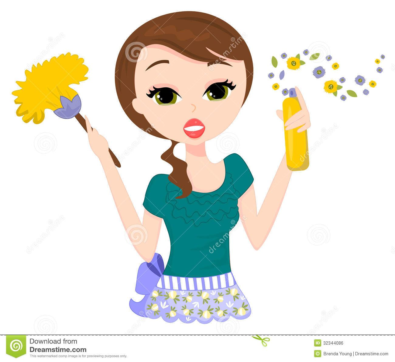 cleaning business clip art printable house cleaning flyers cleaning lady from over 53 million high quality stock photos images vectors sign up for today image 32344086