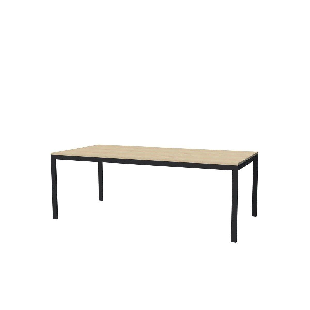 669 Fait Montreal Aussi Dispo Avec Pattes Blanches Ou Metalliques Tables A Diner Allais Erable Placage 40 X 84 8 Perso Table A Diner Table Mobilier