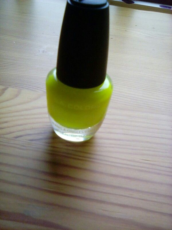 This LA colors nail polish from dollar tree is really good quality ...