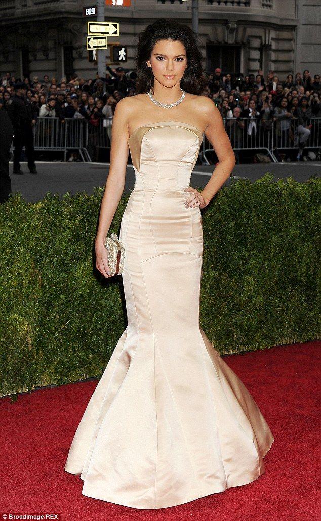 Kendall Jenner Red Carpet Dress