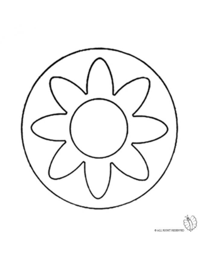 Disegno Mandala 3 Disegni Da Colorare E Stampare Gratis Per