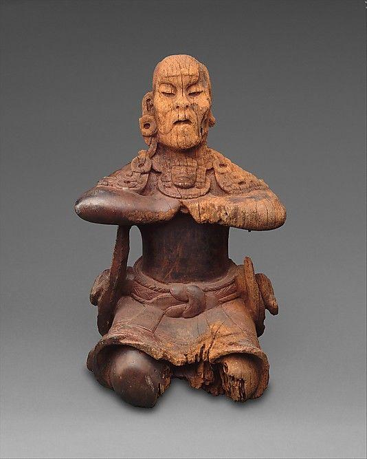 Maya, Guatemala or Mexico, Mesoamerica Culture, Mirror-Bearer, 6th century, The Metropolitan Museum of Art