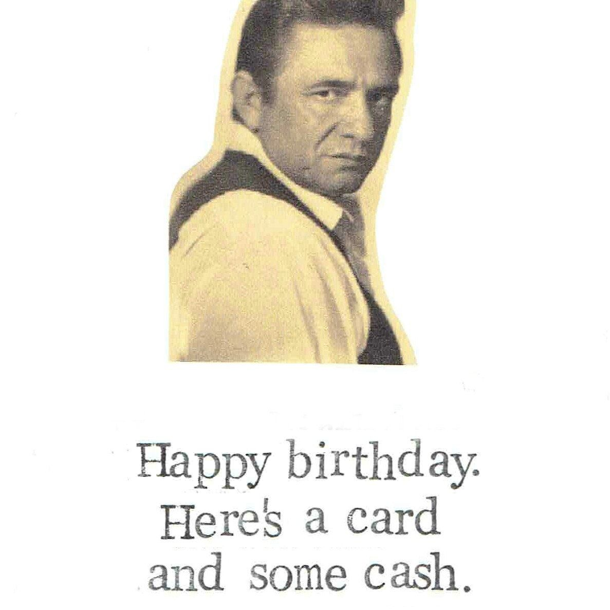 A Card And Some Cash Birthday Card – Bruce Springsteen Birthday Card