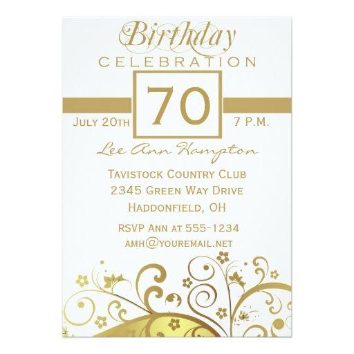 70th 79th Birthday Party Invitations Xccx Psd Files Birthday