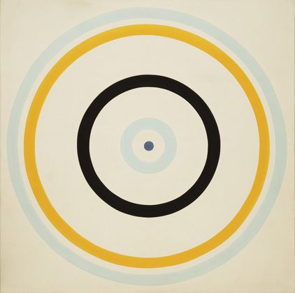 Turnsole  Kenneth Noland, 1961 Round n Round in Circles http://decdesignecasa.blogspot.it