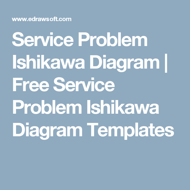 Service problem ishikawa diagram free service problem ishikawa service problem ishikawa diagram free service problem ishikawa diagram templates ccuart Choice Image