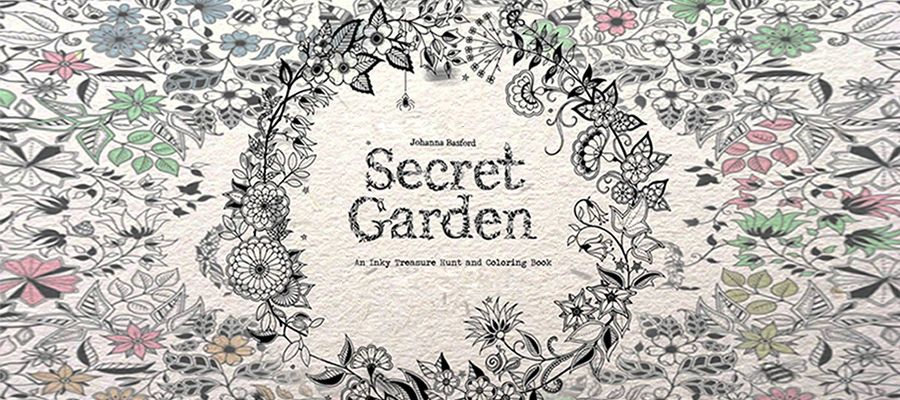 Free And Printable Secret Garden Coloring Book In PDF Warna