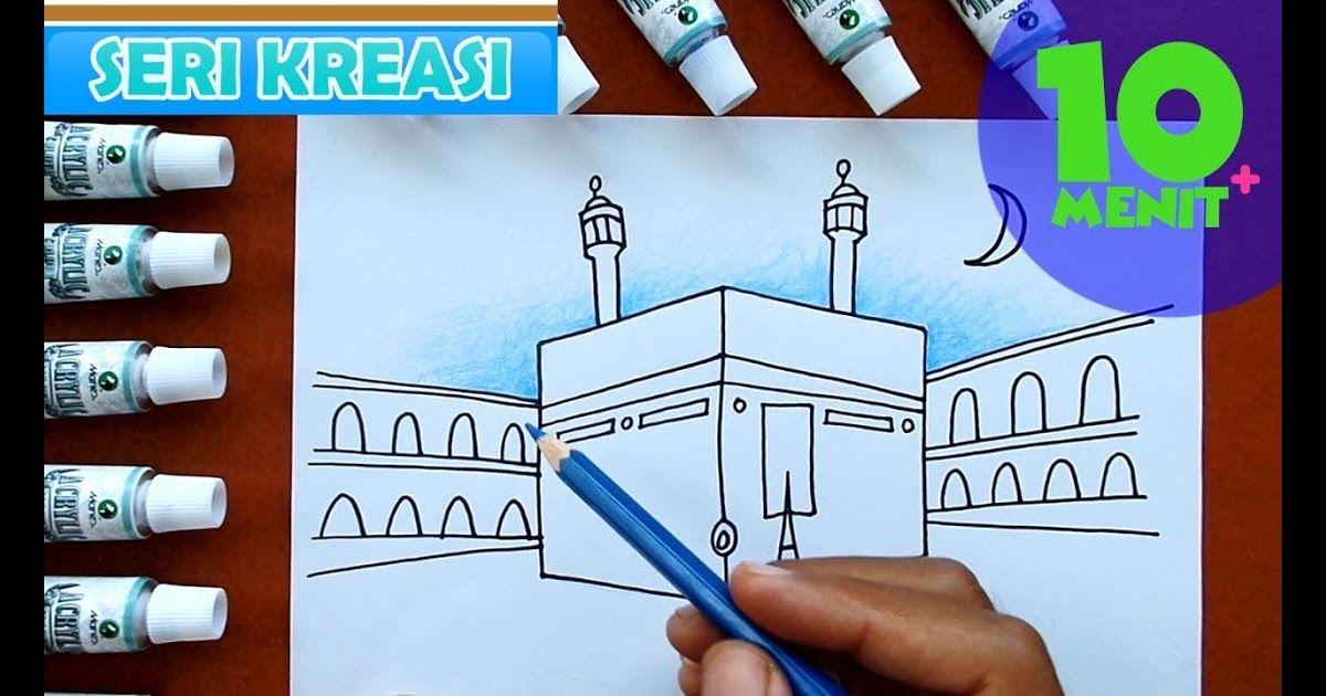 31 Gambar Kartun Anak Haji Cara Mewarnai Gambar Kabah