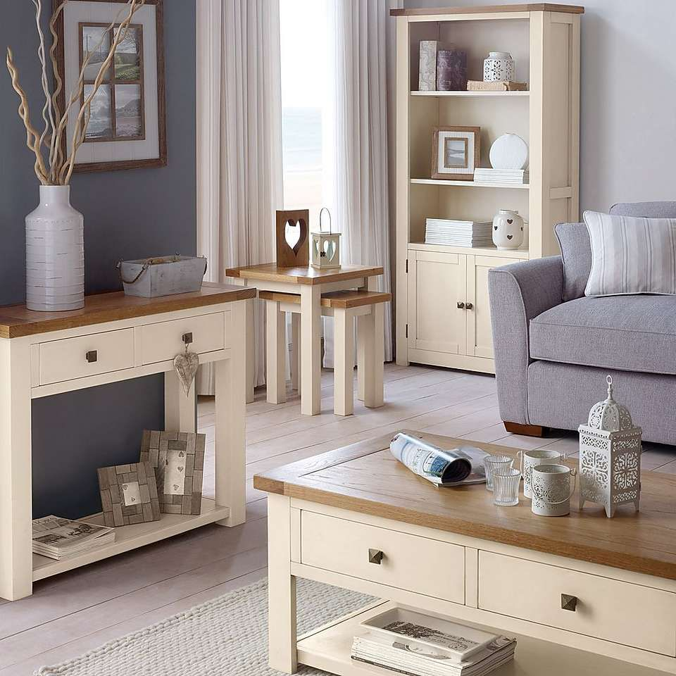 Henley Cream Living Furniture Collection  Living room furniture