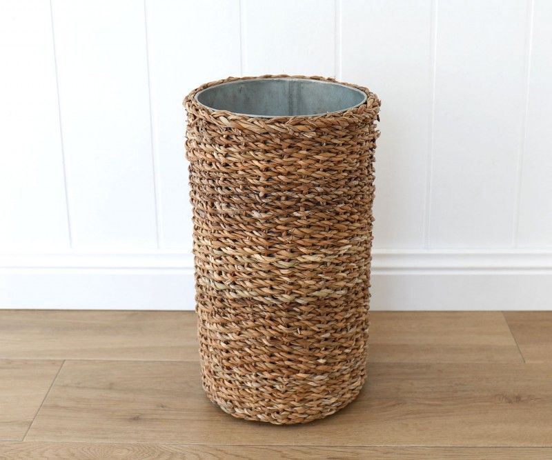 Seagrass Umbrella Holder Small Wall Hook Racks Coat Rack Wicker And Rattan Baskets And Memo Boards Umbrella Holder Home Decor Online Umbrella
