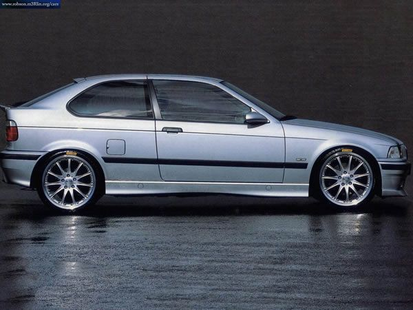 E36 1999 323tiweighs as much as an E30 M3, with a