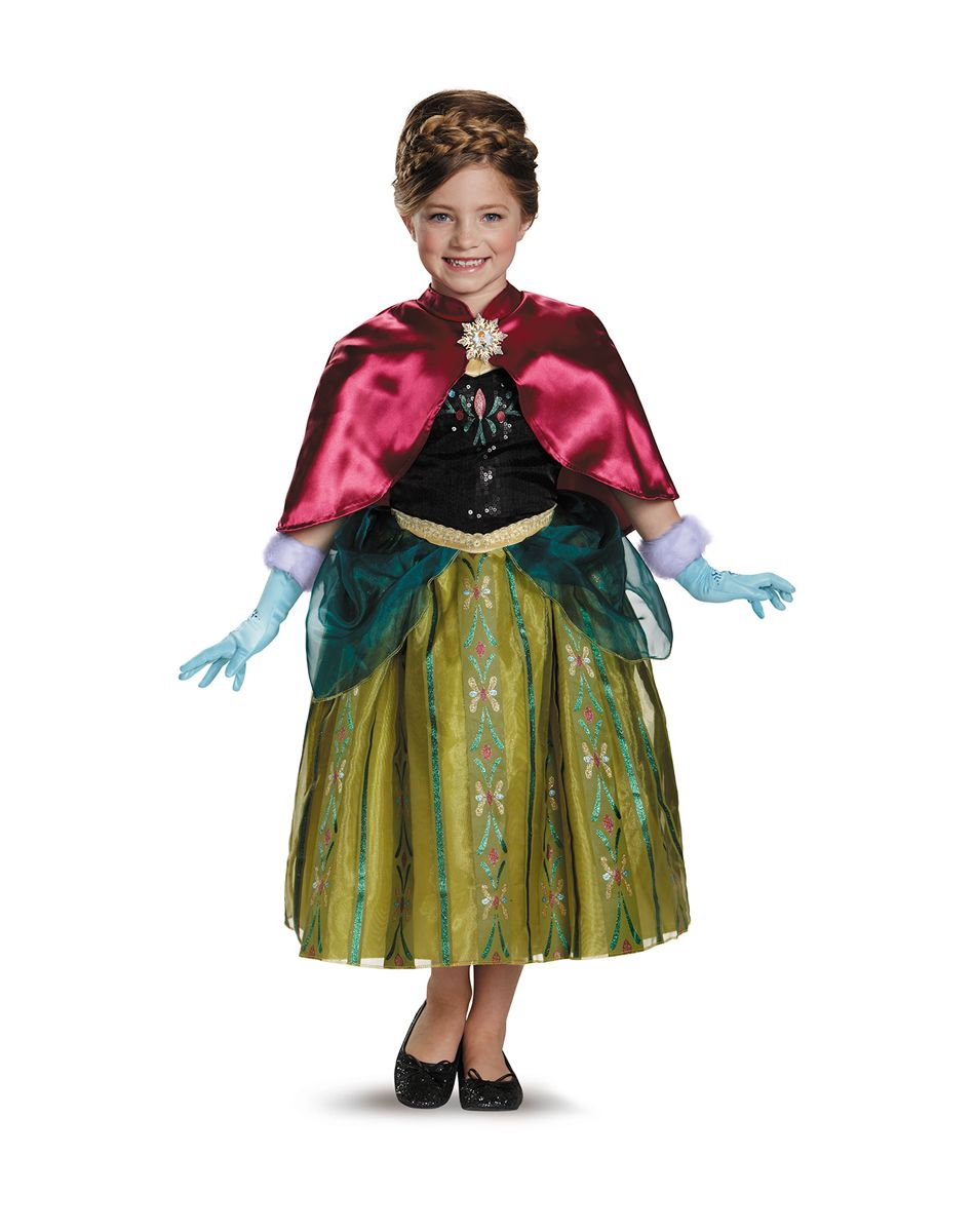 anna coronation gown child costume exclusively at spirit halloween enchantingly embark on a mission to - Halloween Anna Costume