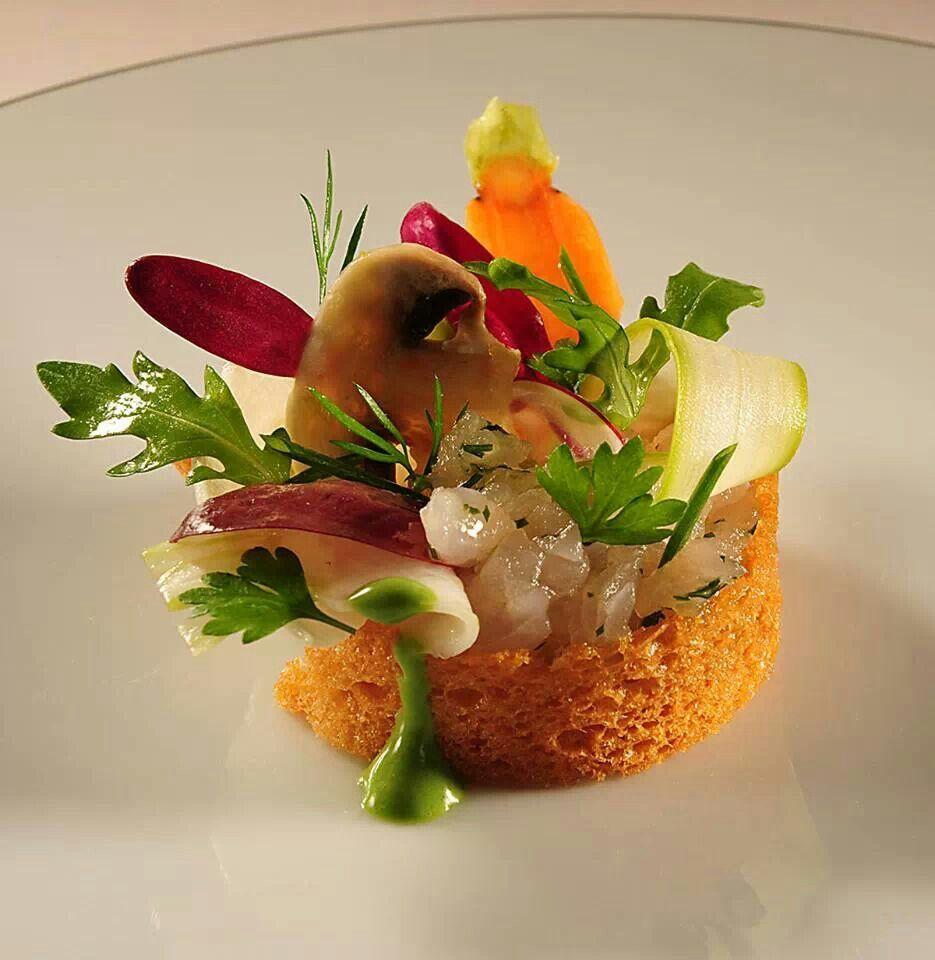 Pingl par hetty ubilla sur food art pinterest - Dressage des plats en cuisine ...