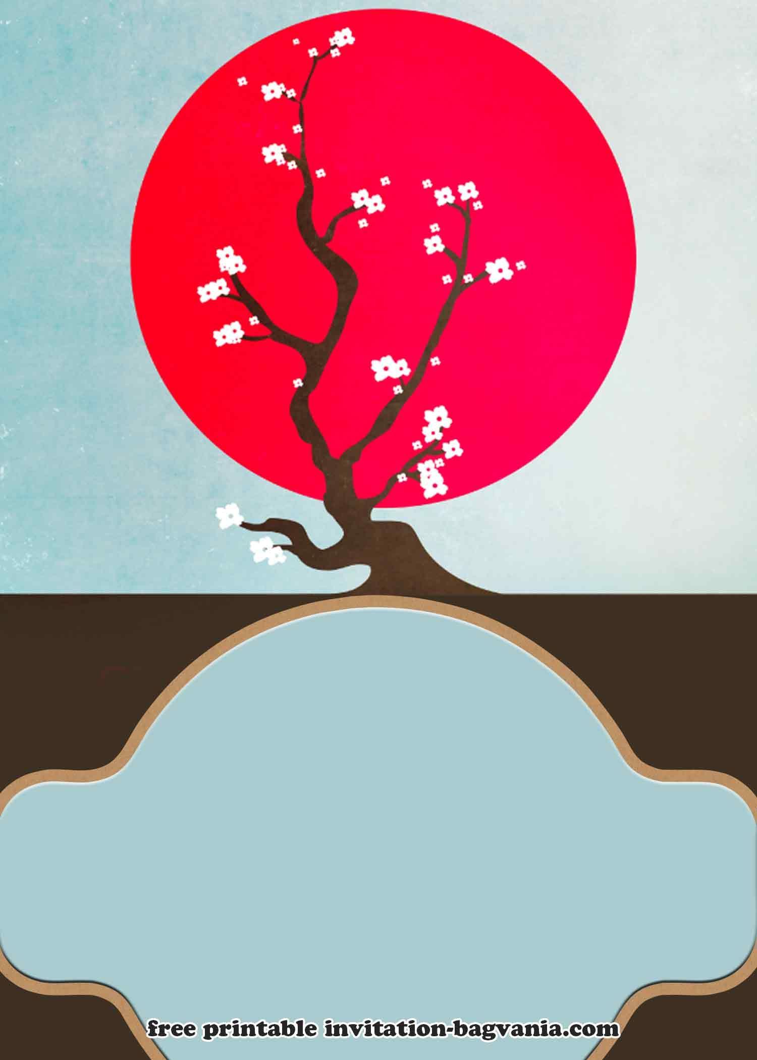 Free Japanese Picnic Style Invitation Templates Picnic Invitations Free Birthday Invitation Templates Invitation Template