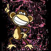 Don T You Wish Your Monkey Was Fun Like Me Monkey Art Cartoon Monkey Monkeys Funny
