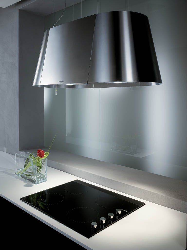 Stunning Elica Rangehood #kitchen #interior #decor | Kuzhina Moderne ...