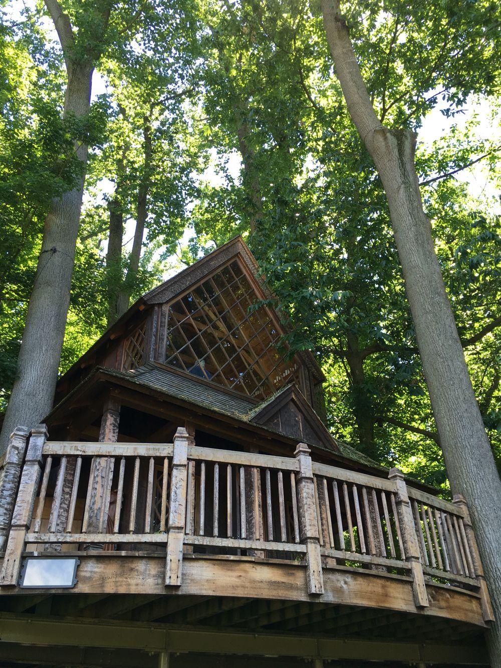 Pete Nelson S Treehouse At Longwood Gardens Tree House Longwood