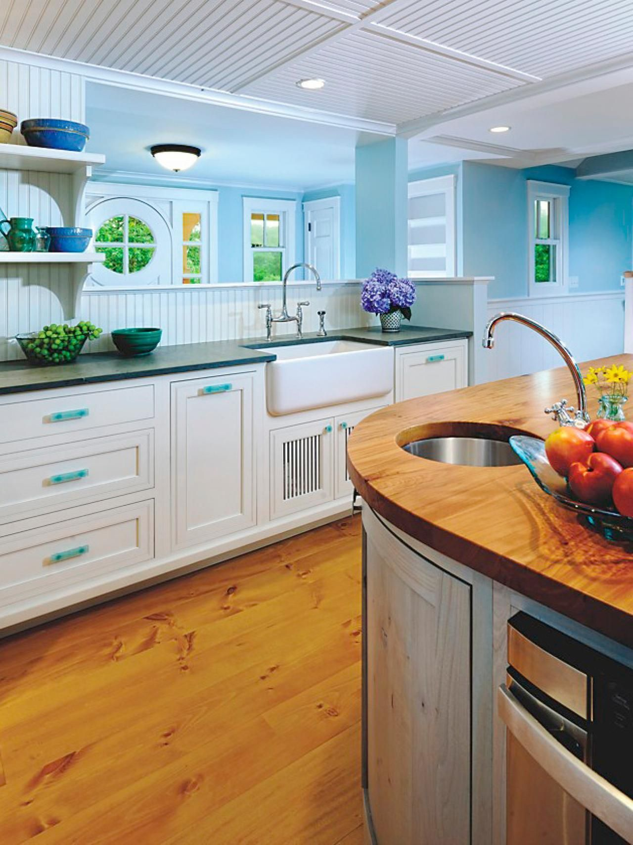 Everything About Painted Kitchen Cabinet Ideas Diy, Two Tone, Rustic,