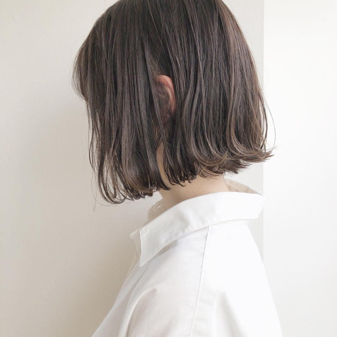 首短い女性に似合う髪型17選 丸顔で首が太い人に似合うのは Cuty 丸顔 髪型 レディース パーマヘア 髪型