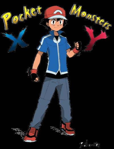 Pokemon Xy Clothes : pokemon, clothes, Ketchum, Outfit, (Colored), Minorkrama, DeviantART, Ketchum,, Color