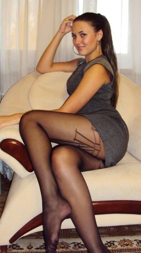 Long legs and pantyhose and upskirt photos more