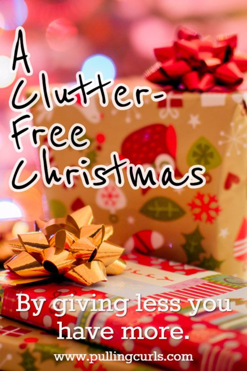 a clutter free christmas free christmas giftskids