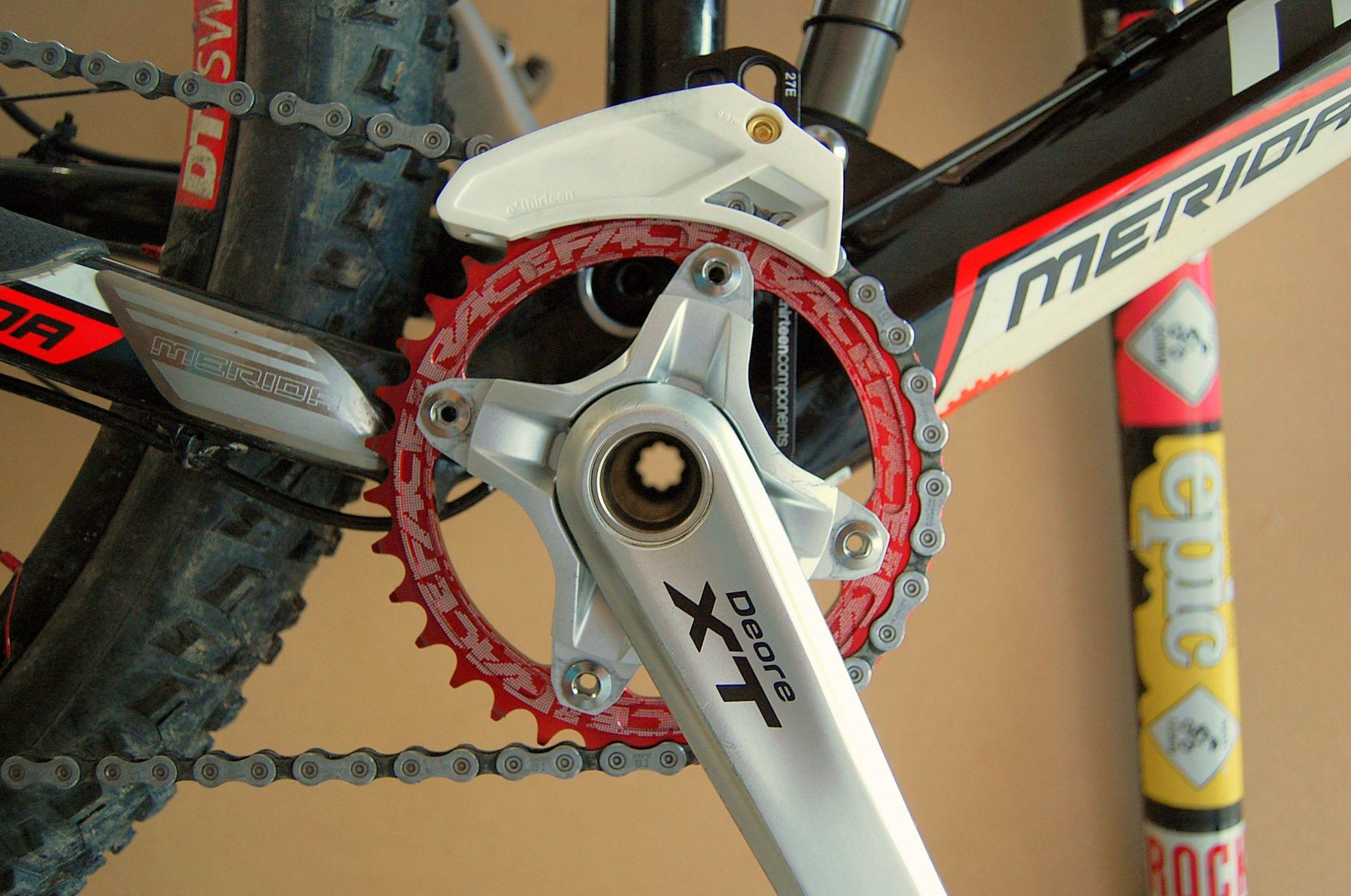 Setting Up A Single Chainring Mtb Bike Mountain Bicycle Garage