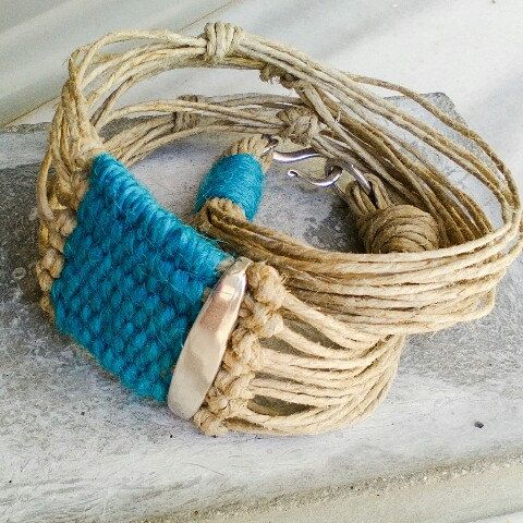 Woven wrap bracelet for woman, layering boho tapestry bracelet, fiber tribal jewelry, colorful boho gift, unusual unique handmade gifts