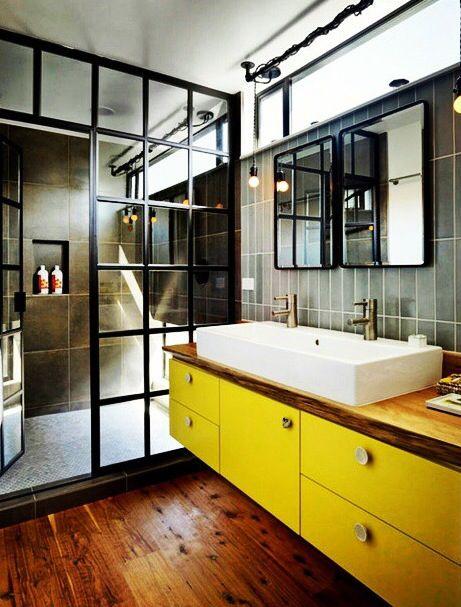 glass internal partition inspiration pinterest salle. Black Bedroom Furniture Sets. Home Design Ideas
