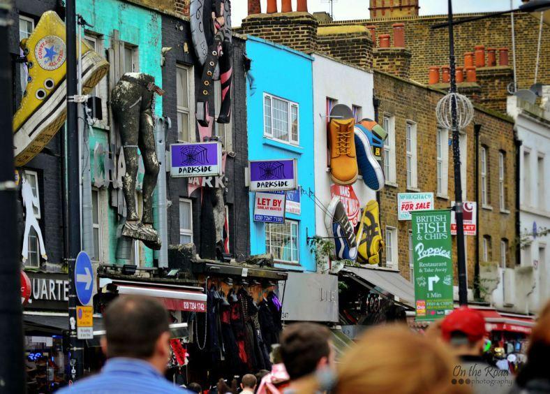 Camden Market, London, UK