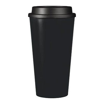 Reusable To Go Hot Cold Beverage Tumbler Double Wall With Sip Lid 1