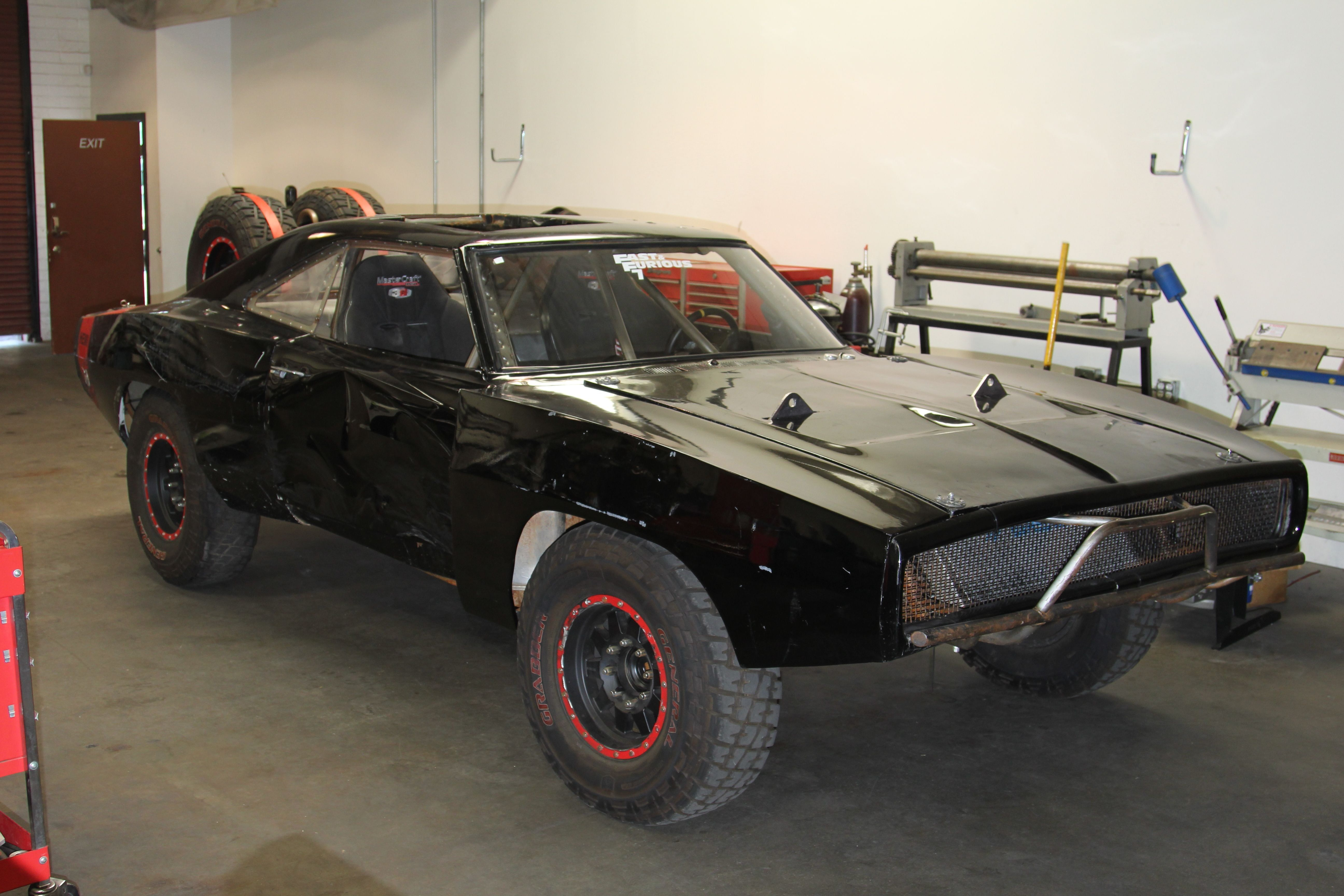 Desktop Dodgecharger Rt f Road Fast And Furious Movie Black Usa