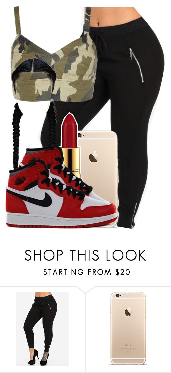 """""""292"""" by tuhlayjuh ❤ liked on Polyvore featuring River Island and MAC Cosmetics"""