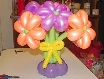 decoracion de globos para fiestas paso a paso buscar con google