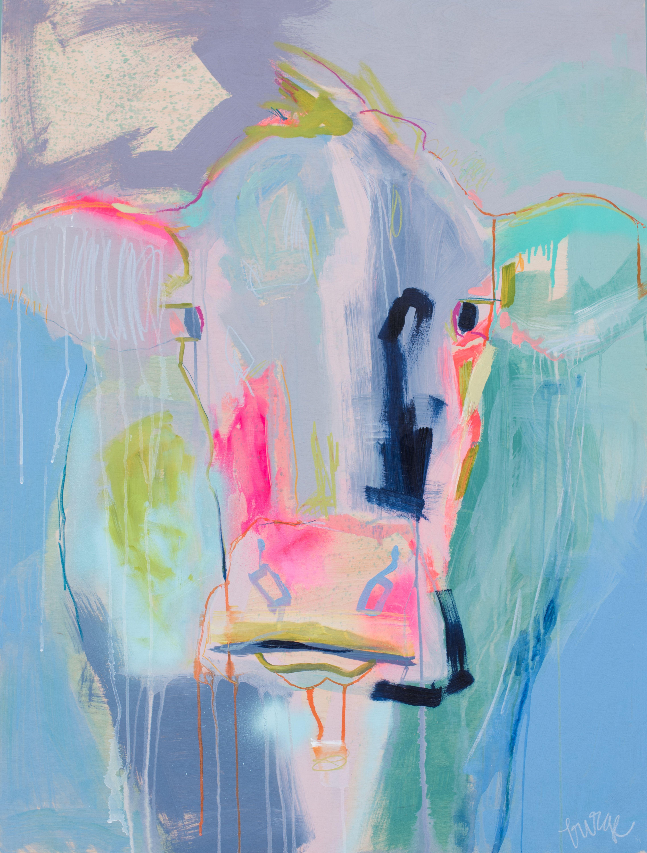 "Elaine Burge, ""Renegade"" 48x36   Gregg Irby Gallery"