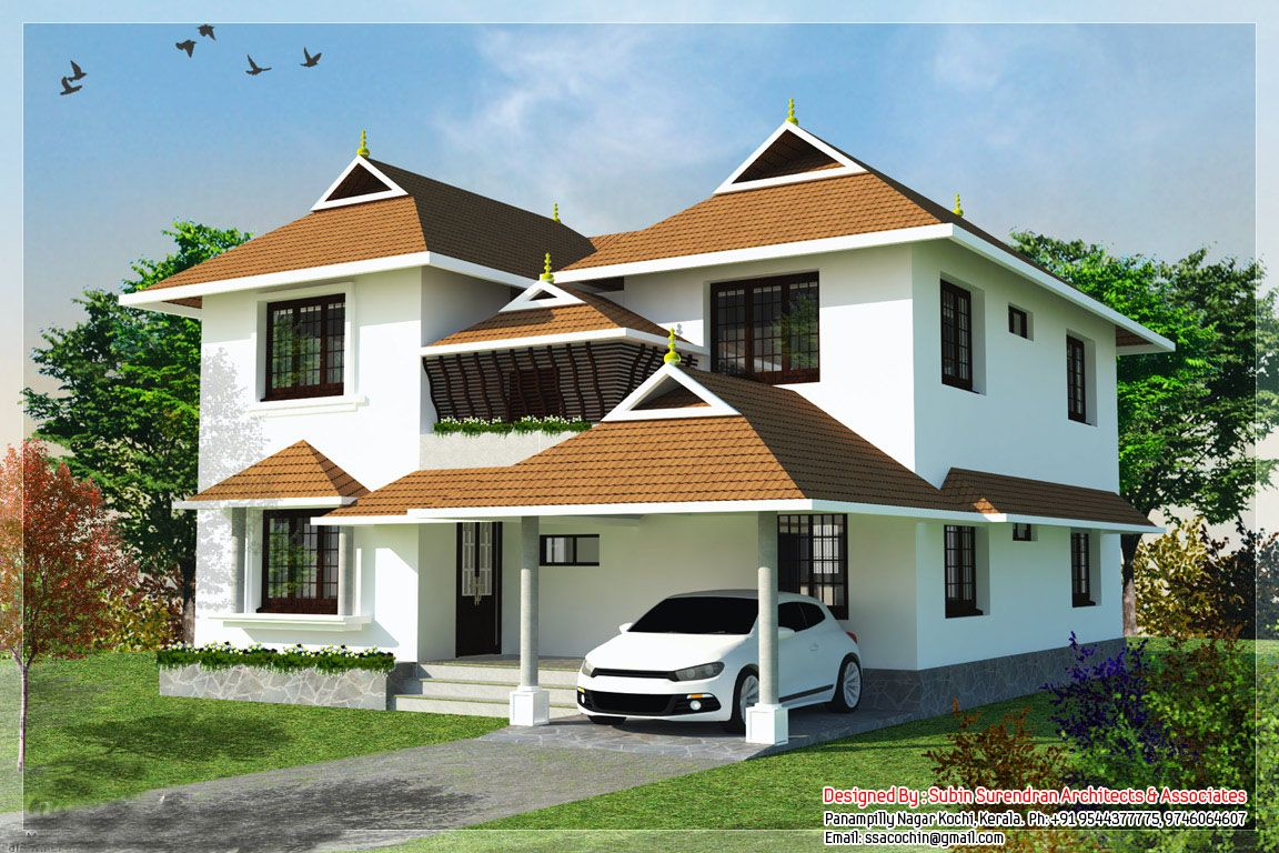 Kerala traditional house plans with photos modern design for Traditional home designs