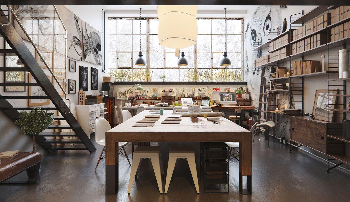 Atng Studio Interior Design Vray 3ds Max 03