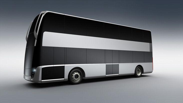 Rapta double Decker Bus | Projects | dekode® | Trucks,Buses