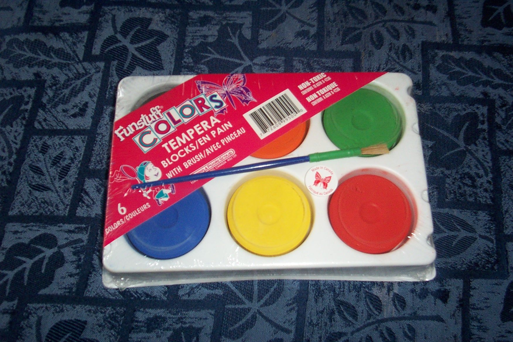 Paint pucks last forever and the colours are so vibrant!