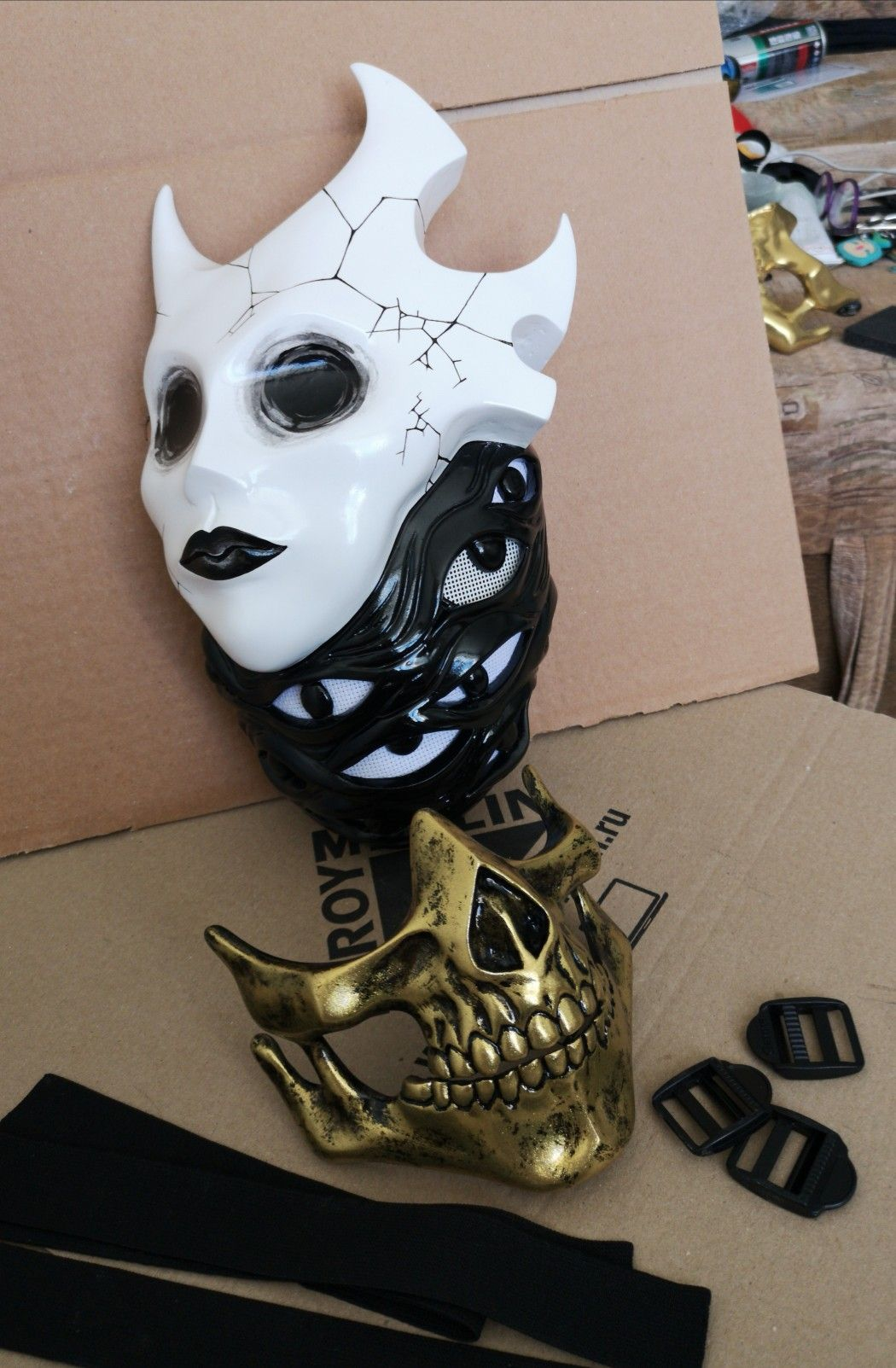 handmade masks by Klatsk in 2020 (With images) Cool