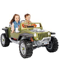 Fisher Price Power Wheels Jeep Hurricane With Monster Traction