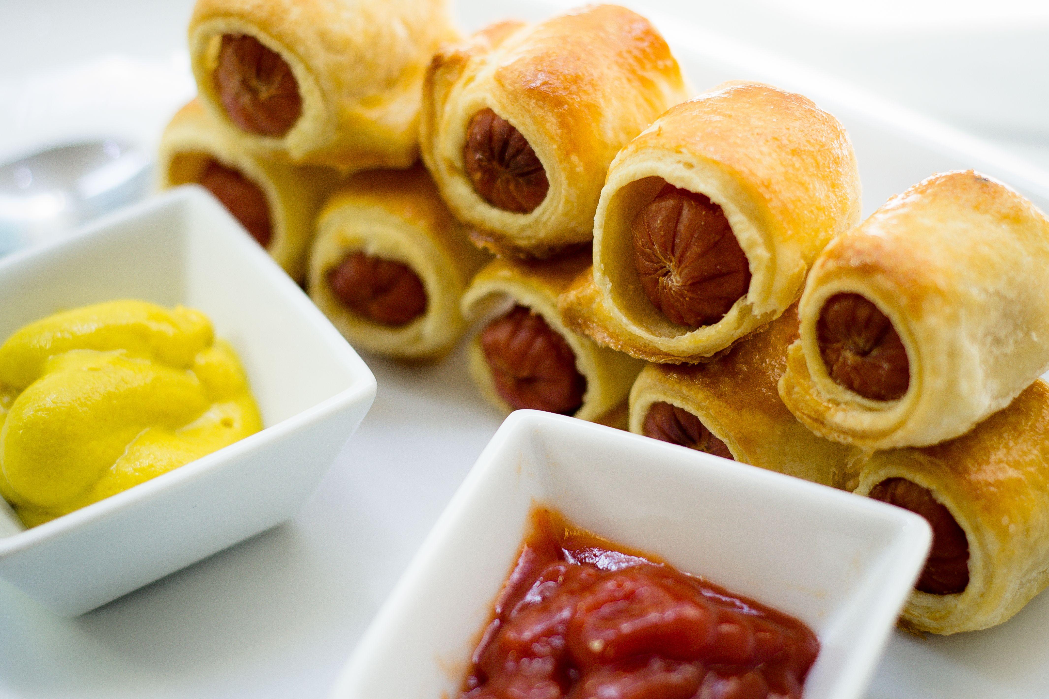 Sencillas Comidas Rapidas Para Hacer En Casa Mini Hotdogs Receta Recetas De Comida Recetas Faciles Comida