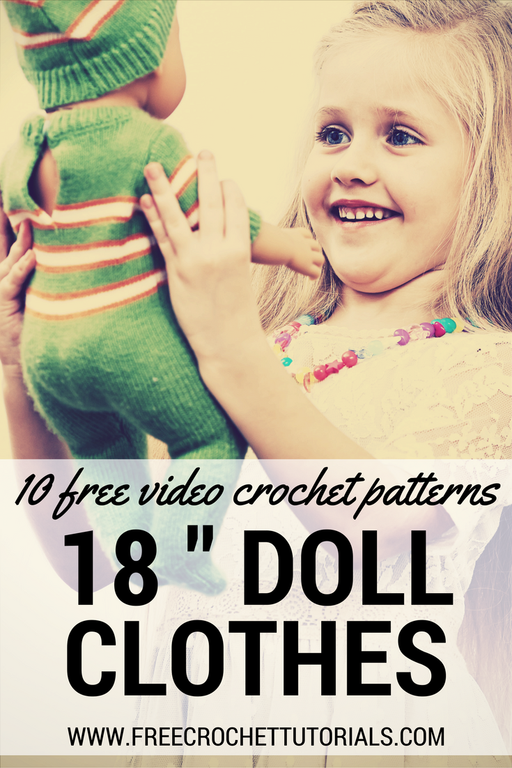 Today we have 10 free video crochet patterns for 18 inch doll today we have 10 free video crochet patterns for 18 inch doll clothes plus 20 bankloansurffo Choice Image