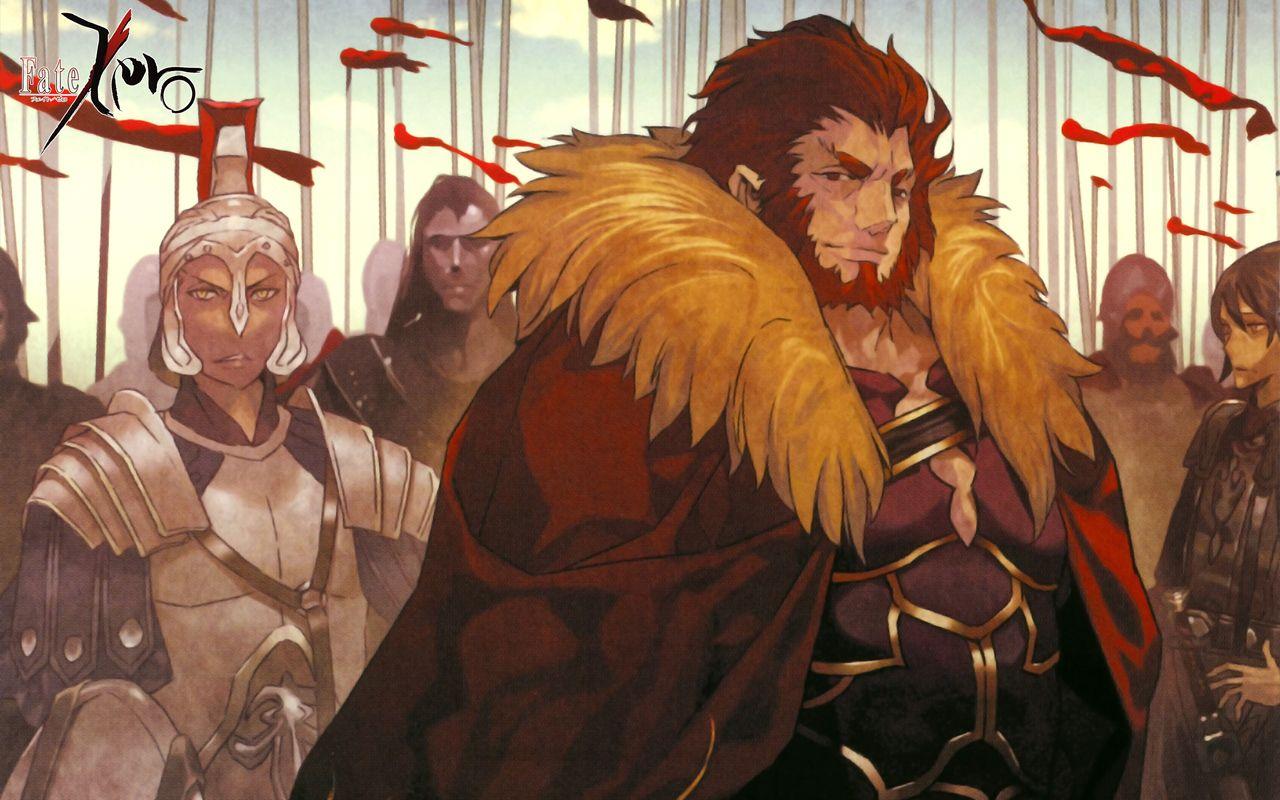 Fate Zero Rider Fate Zero Fate Fate Anime Series