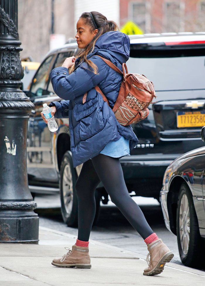 Malia Obama Wears These Boots to Her Internship Every Day