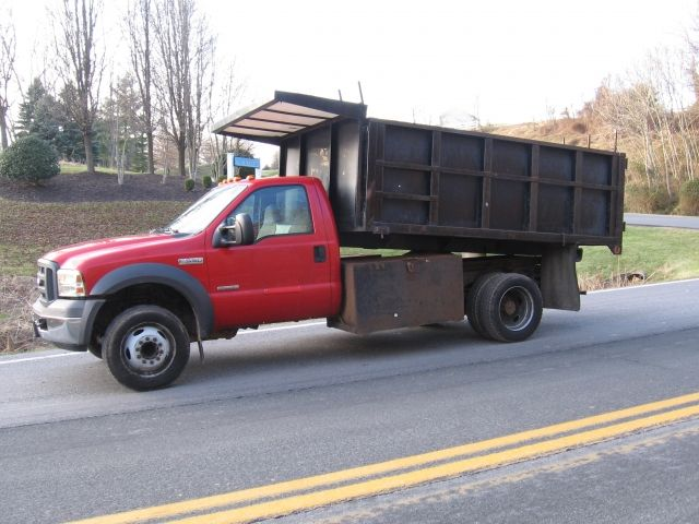 2005 Ford F 550 Super Duty Dump Truck Powered By A 6 0 Power Stroke Diesel Automatic Transmission Air Conditioning Tow P Trucks Trucks For Sale Diesel Cars