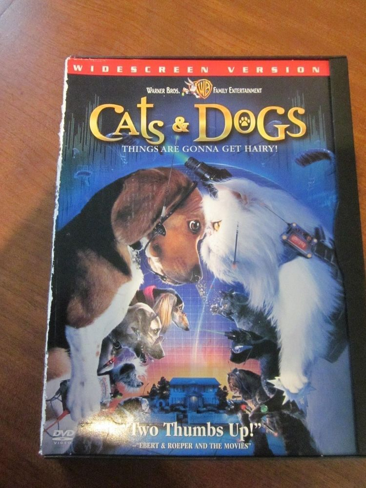 cats and dogs movie poster Alternative Title Cats and