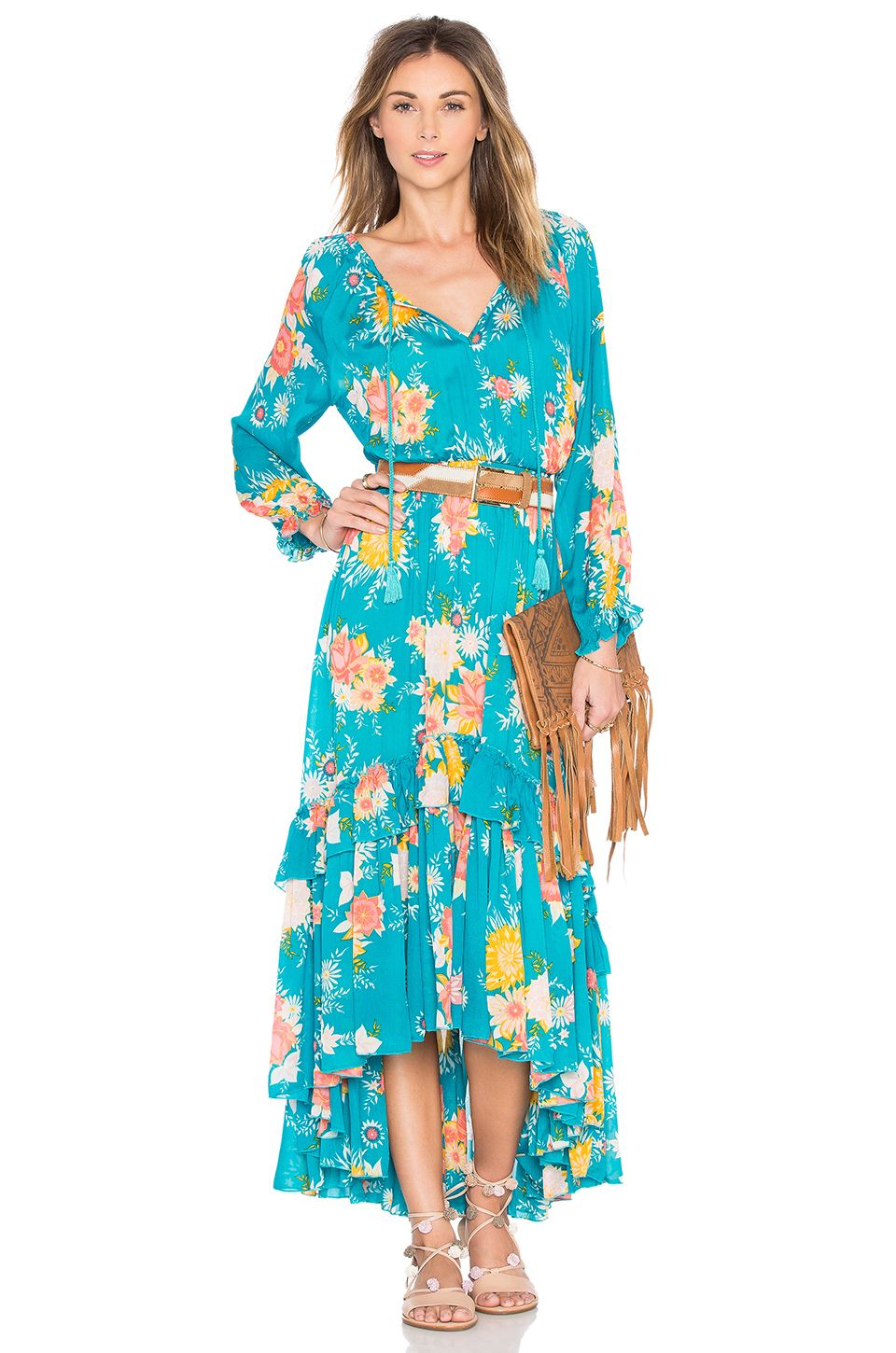 Spell & The Gypsy Collective Jagger Dress in Teal | Outfit Envy ...